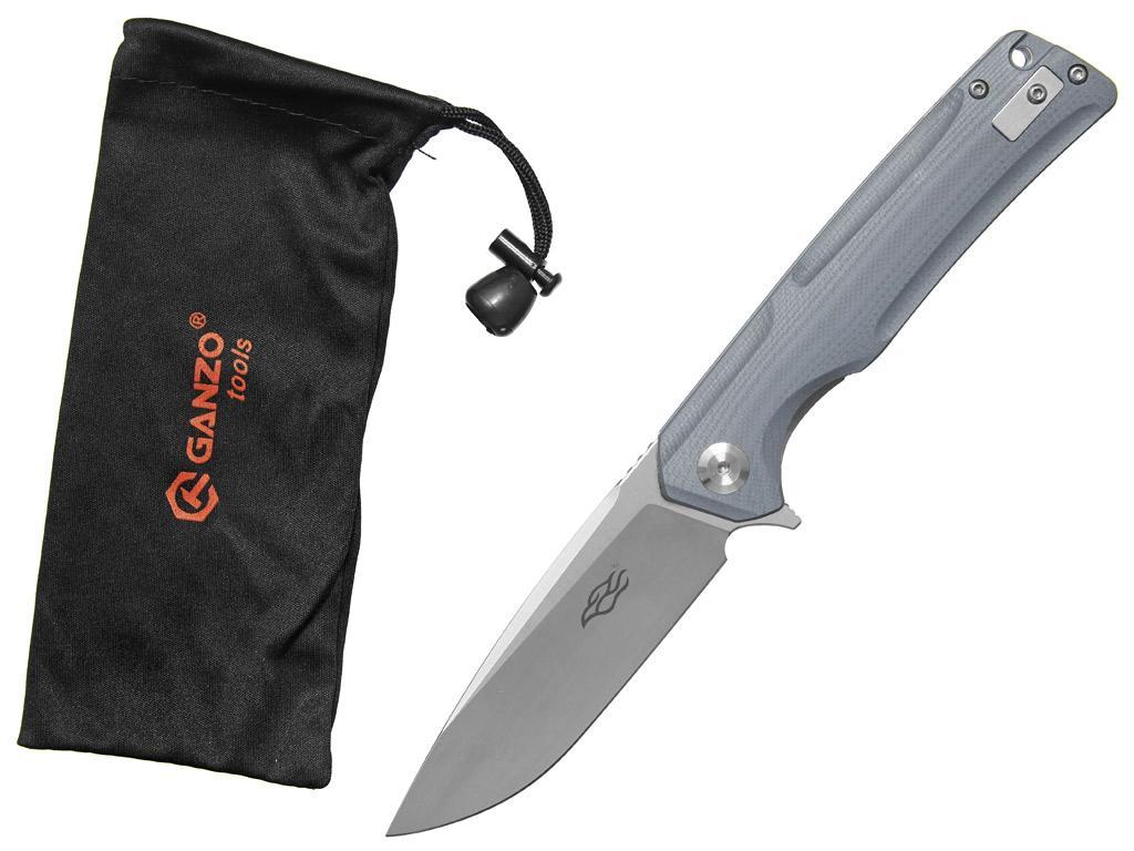 Zavírací nůž Ganzo FH91GY šedý