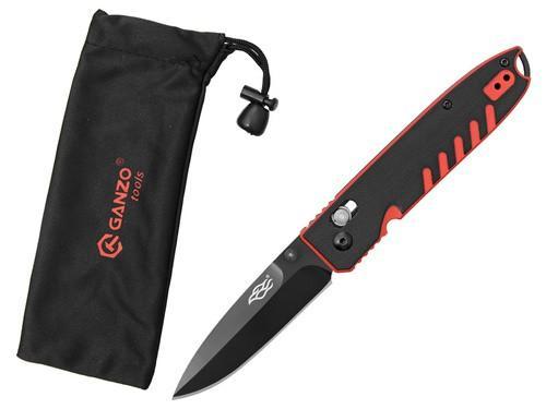 Zavírací nůž Ganzo F7463RB Firebird black/red