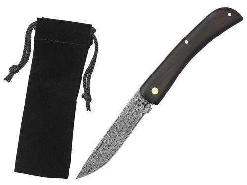 Zavírací nůž Haller 42984 damaškový eben